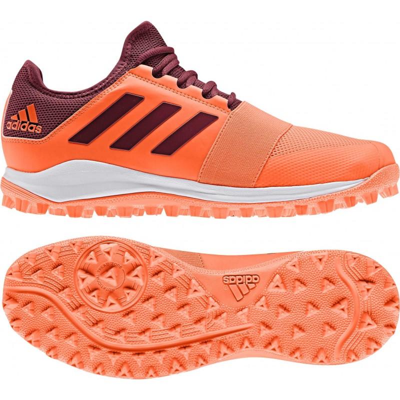 Sur Divox Chaussure Hockey Adidas Gazon Orange v8nm0Nw